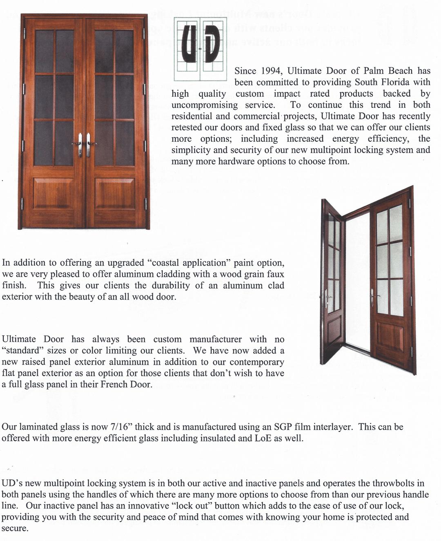 Ultimate Door  sc 1 st  Window Scapes Inc & Ultimate Door | Window Scapes Inc